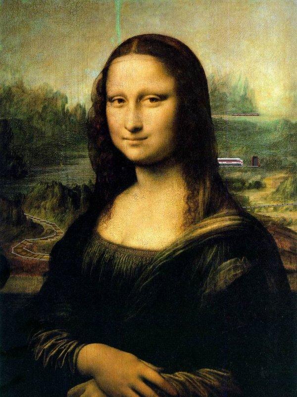 Mona liza 'la gioconda'